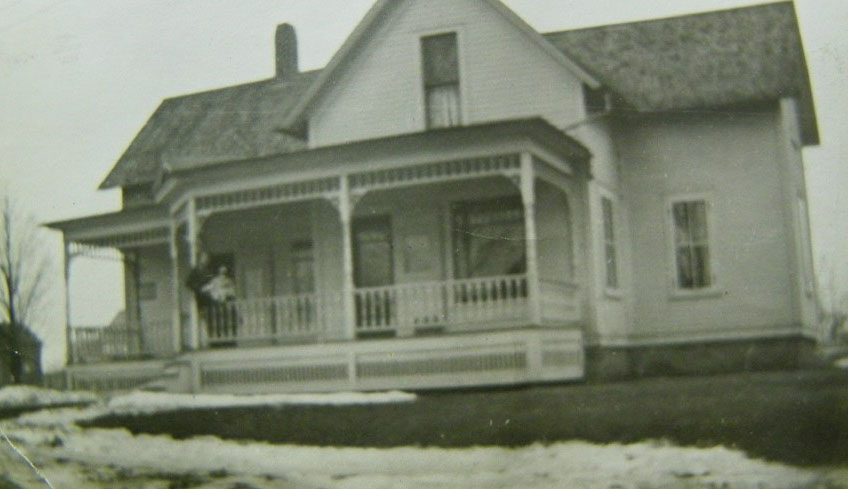 Rogers' boyhood home